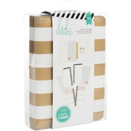 HS312596 Heidi Swapp Personal Memory Planner Gold Foil Stripe