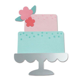 665095 Sizzix Bigz Die - Celebration Cake Alexis Trimble