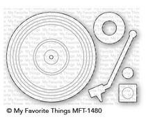 MFT-1480 My Favorite Things Turntable Die-Namics