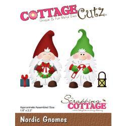 """540408 CottageCutz Die Nordic Gnomes 1.6""""X2.2"""""""