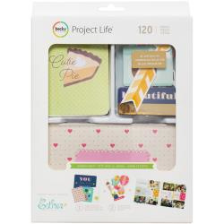 463706 Project Life Value Kit Garden Party W/Gold Foil 120/Pkg