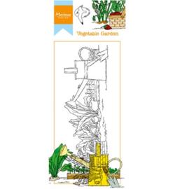 HT1612 Marianne Design stempel Hetty's border Vegetable garden