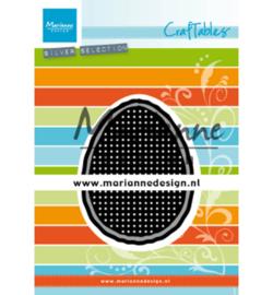CR1497 Marianne Design Craftables Cross stitch Easter egg
