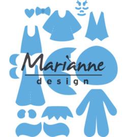 LR0474 Marianne Design Creatables Kim's Buddies
