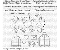 CS-368 My Favorite Things Stamp Tweethearts