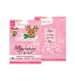 COL1476 Marianne Design Collectables Eline's Rendier Kerst