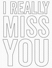 MFT1871 My Favorite Things I Really Miss You Die-Namics