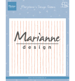 DF3456 Marianne Design Design Folder Marjoleine's stripes