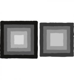 CR1375 Craftables Basic distressed square