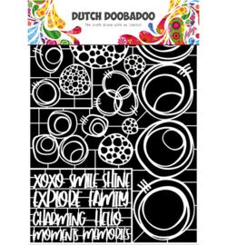 472.948.052 Dutch DooBaDoo Dutch Paper Art Circles