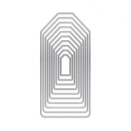 1949E Tonic Studios DL layering dies tag