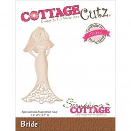 CCE136 CottageCutz Elites Die Bride