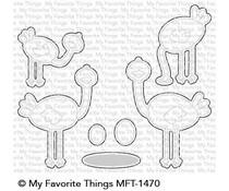 MFT-1470 My Favorite Things Oh My Gostrich Die-Namics