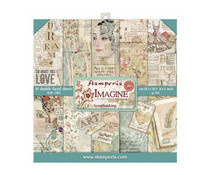 SBBS07 Stamperia Imagine 8x8 Inch Paper Pack