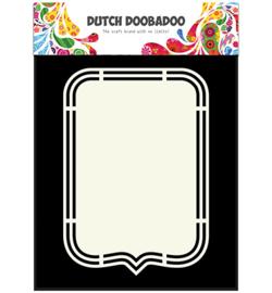 470.713.149 Dutch DooBaDoo Shape Art Tag