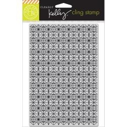 HA-CG655 Kelly Purkey Cling Stamp Background Stars