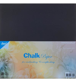 8089/0208 Krijtpapier (Chalkpaper)30,5x30,5 cm