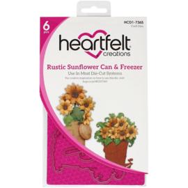 HCD17365 Heartfelt Creations Cut & Emboss Dies Can & Freezer