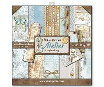 SBBL31 Stamperia Atelier 12x12 Inch Paper Pack