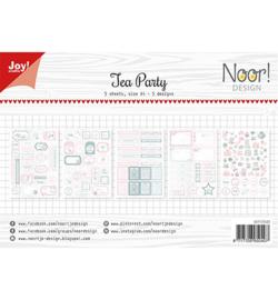 6011/0423 Noor Labelvellen Tea Party