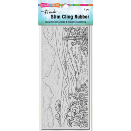 654024 Stampendous Cling Stamp Slim Meadow