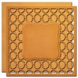 """S6023 Spellbinders Nestabilities Labels 1 Card Front 6""""X6"""" Card Creator Dies"""