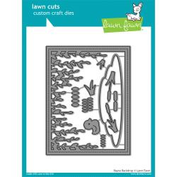 LF1624 Lawn Cuts Custom Craft Die Bayou Backdrop
