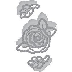 S2284  Spellbinders Shapeabilities Dies Corner Floral