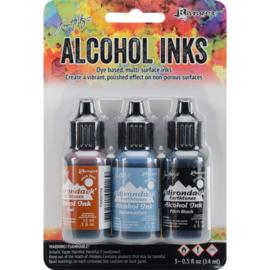 285518  TAK20721 Adirondack Inkt Miners Lantern-Rust/Stonewash/Pitch Blk