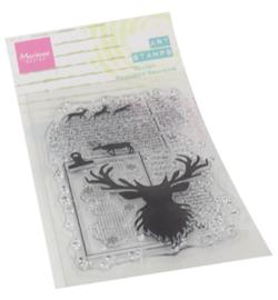MM1637 Marianne Design Art stamps Deer