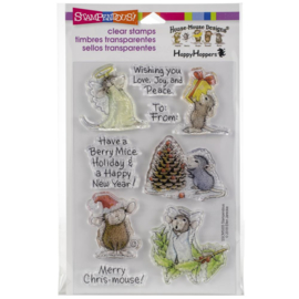 252215 Stampendous Perfectly Clear Stamps Merry Mice