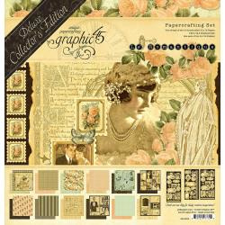 "602892 Graphic 45 Deluxe Collector's Edition Pack Le Romantique 12""X12"""