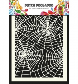 470.715.011 Dutch Doobadoo - Mask Art Stencils Spiderweb