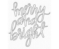 MFT-1607 My Favorite Things Merry and Bright Die-namics