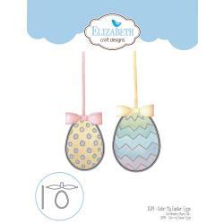 EC1509 Elizabeth Craft Metal Die Color My Easter Eggs