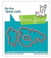 LF2596 Lawn Cuts Custom Craft Die Mermaid For You Flip-Flop