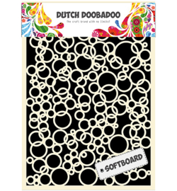 478.007.015 Dutch DooBaDoo Soft Board Art Bubbles
