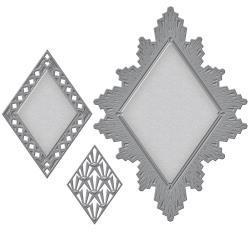 S5256 Spellbinders Nestabilities Decorative Elements Dies Ritz Accent