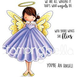 257113 Stamping Bella Cling Stamps Annie Is An Angel