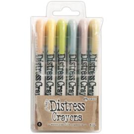 466617 Tim Holtz Distress Crayon Set#8