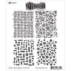 360172 Dyan Reaveley's Dylusions Cling Stamp Graphic Backgrounds