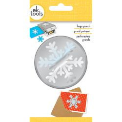 54-30320 EK Tools Large Punch Arctic Snowflake