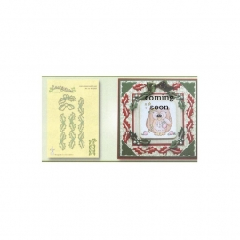 458268 Lea`bilities Cut & Emboss Dies Holly Corners & Borders