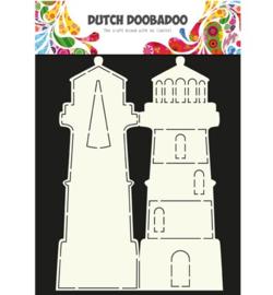 470.990.003 Dutch DooBaDoo Dutch Card Art Lighthouse