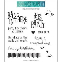 "10581 Concord & 9th Clear Stamps Pinata Party 4""X4"""