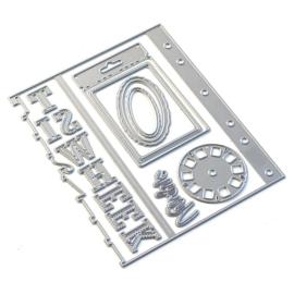 EC1833 Elizabeth Craft Metal Die Sidekick Essentials 11
