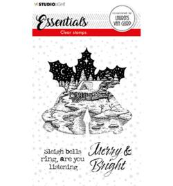 BL-ES-STAMP114 - BL Clear stamp Christmas Bells Essentials nr.114
