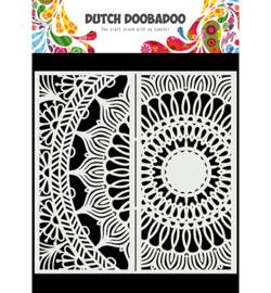470.784.006 Dutch DooBaDoo Mask Art Slimline Mandala