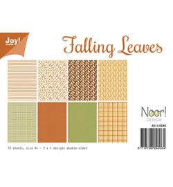 6011/0540 Papier Set Falling Leaves  A4