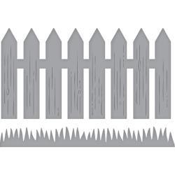 S3320 Spellbinders Shapeabilities Dies Picket Fence